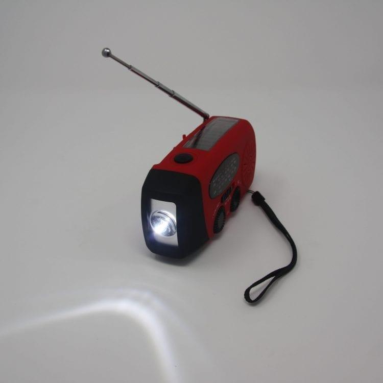 Hand Crank Radio - Flashlight