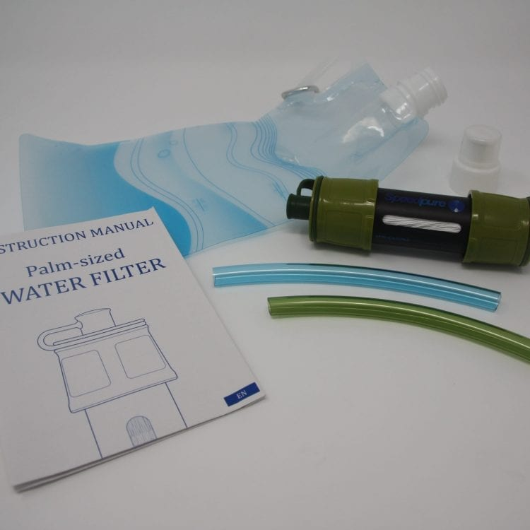 Water Filter - Contents
